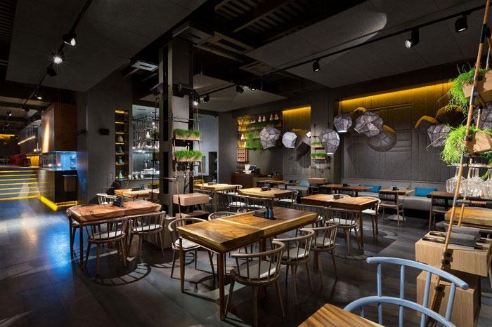 让人眼前一亮的餐厅设计方案详解