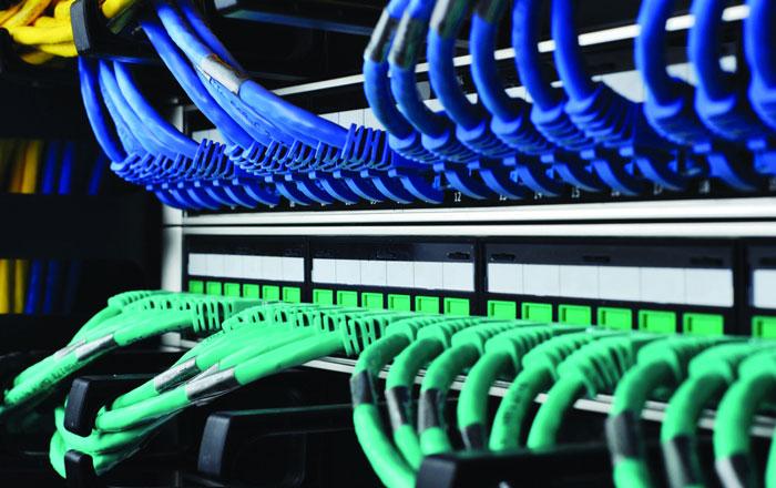 办公室网络布线效果图