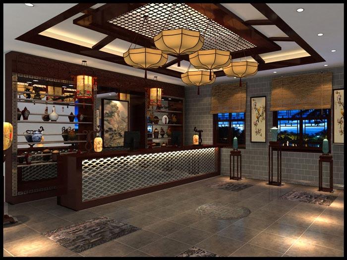 610平方中餐厅装修设计方案解析