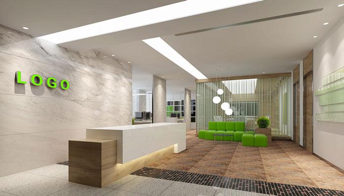 小清新办公室装修设计案例