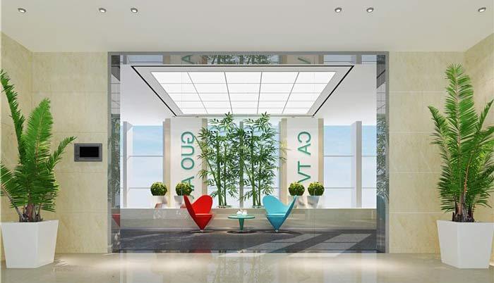 长沙网络有限公司办公室装修设计案例