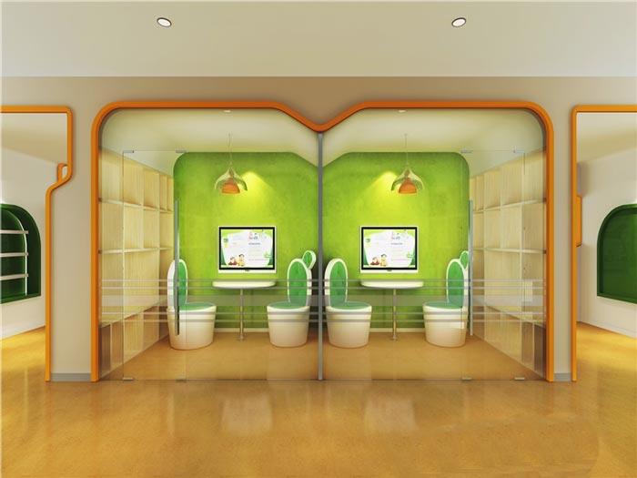 早教中心交流区域装修设计案例效果图