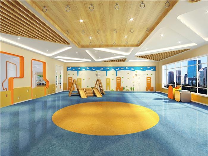 早教中心娱乐区域装修设计案例效果图