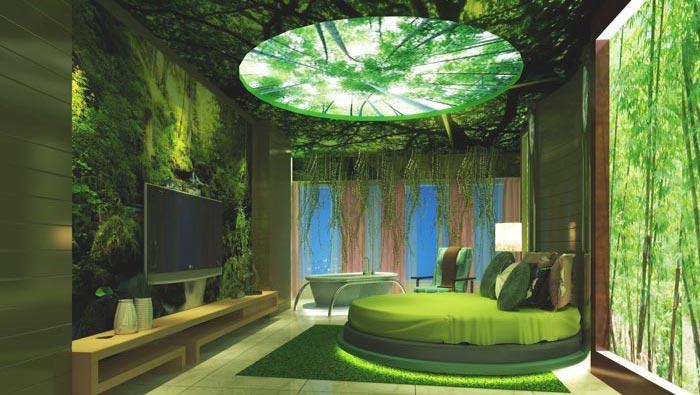 会所_特色主题酒店装修设计案例效果图_岚禾办公空间设计