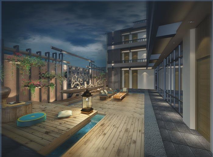 主题概念酒店装修设计案例