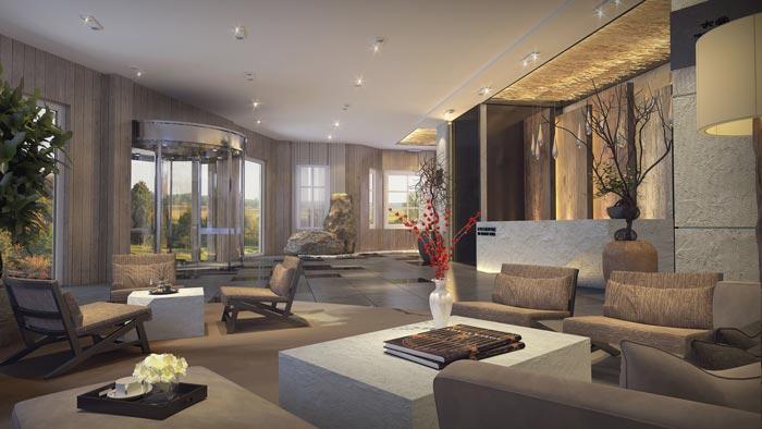 商务型酒店装修设计案例