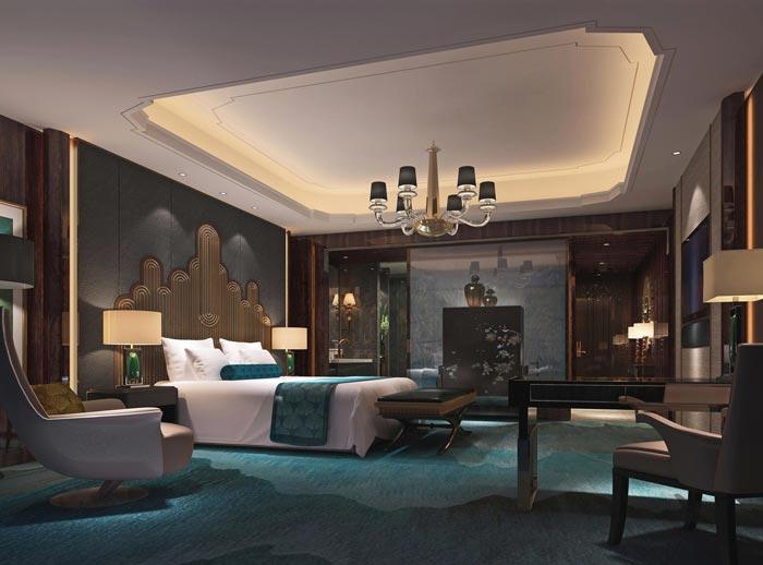 商务酒店装修设计案例