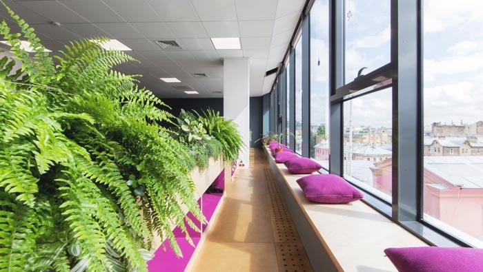 网络游戏开发商茶水间办公室装修设计案例
