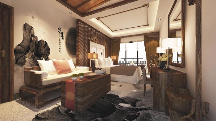 特色度假酒店客房接待装修设计案例