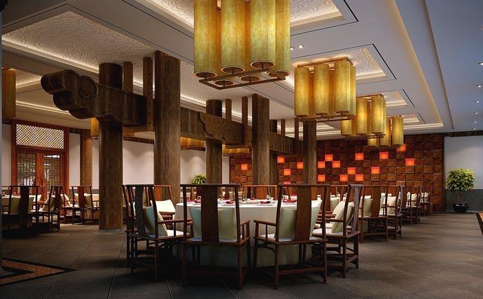 特色度假酒店餐厅接待装修设计案例