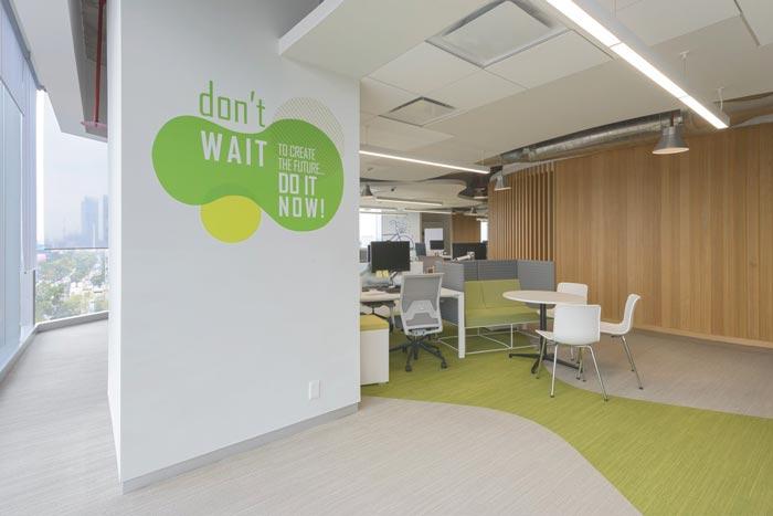 香料公司办公室装修设计案例效果图_岚禾装饰设计