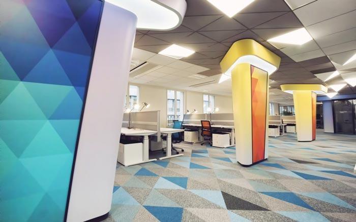 互联网公司办公室装修设计案例