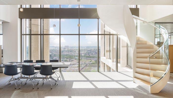 律师事务所办公室楼梯装修设计案例效果图