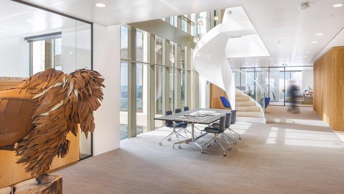 律师事务所办公室小会议室装修设计案例效果图