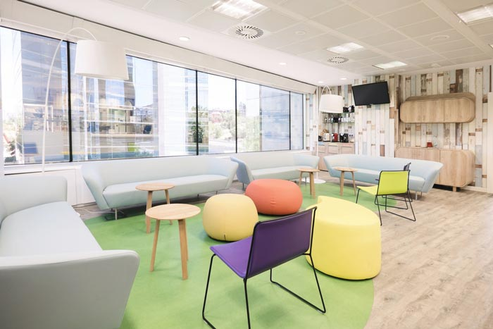 食品公司办公室装修设计案例