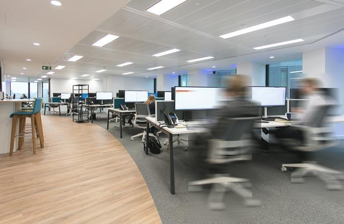 IT公司办公室办公区域装修设计案例效果图