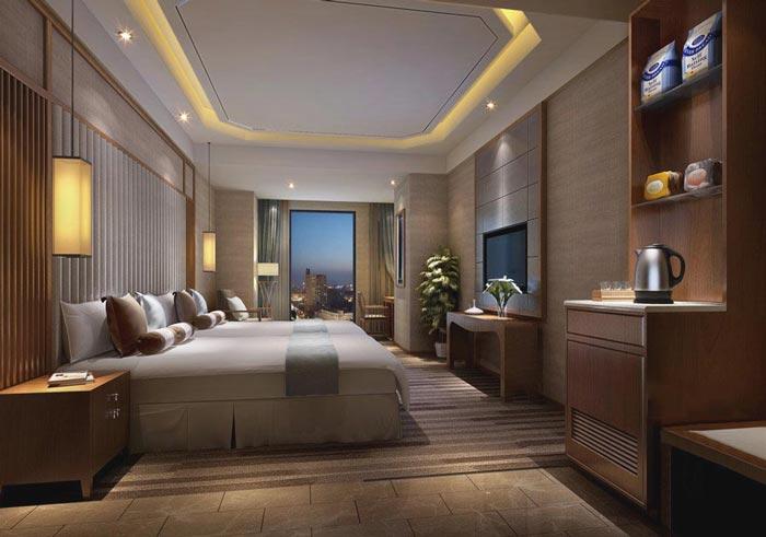 特色商务酒店装修设计案例