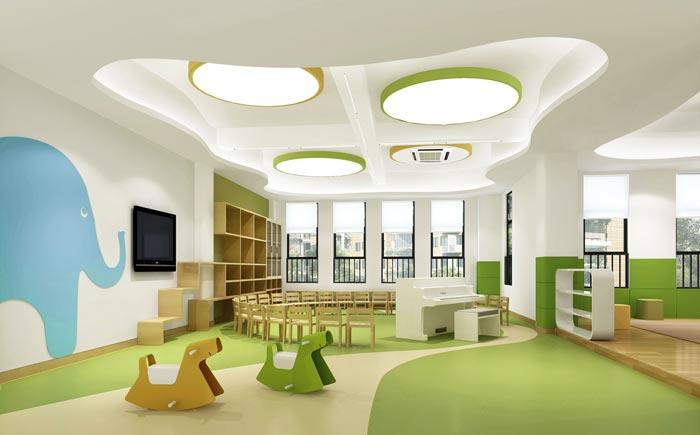 国际双语幼儿园大班装修设计案例