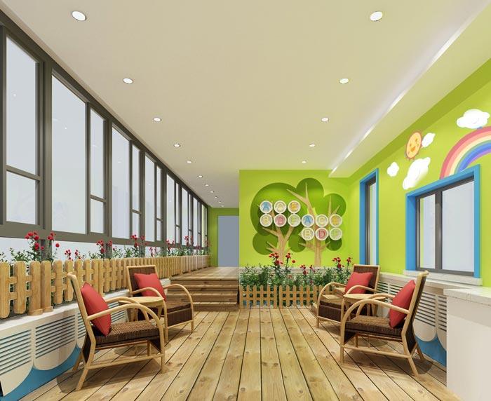 幼儿园生态休闲园装修设计案例