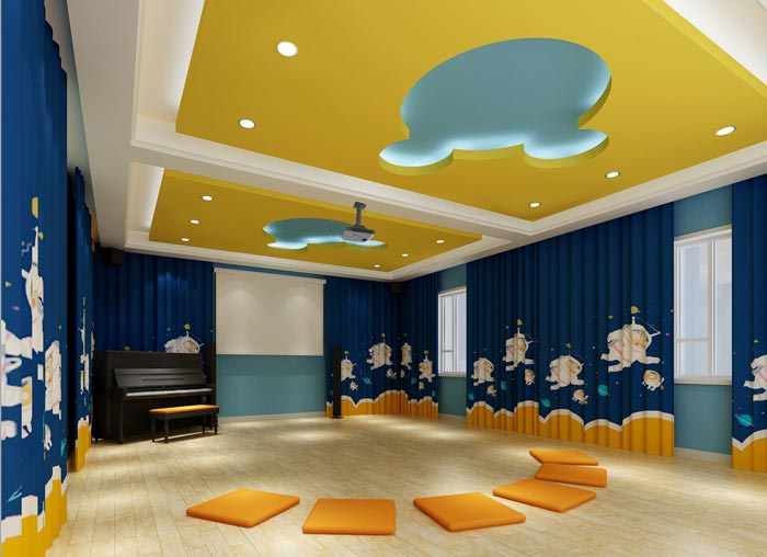 幼儿园影音教室装修设计案例