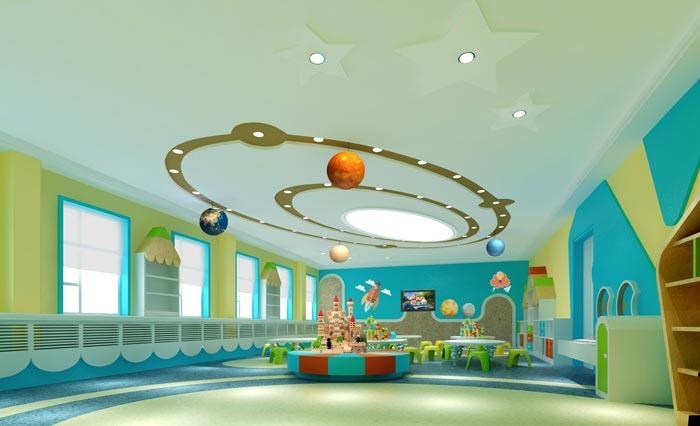 幼儿园拆装教室装修设计案例