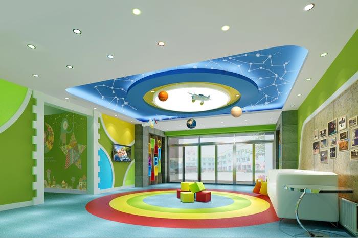 幼儿园门厅装修设计案例