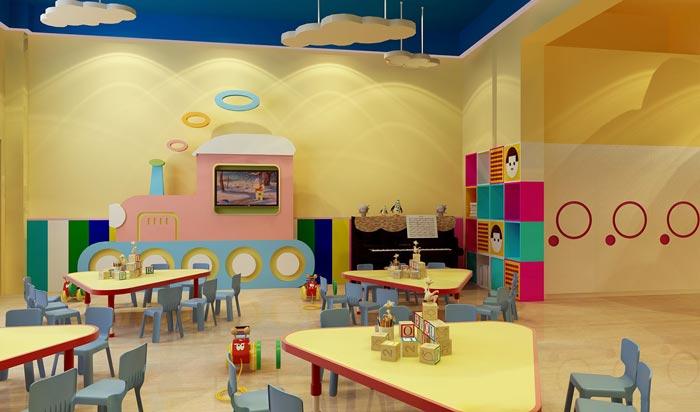 幼儿教育机构教室装修设计案例