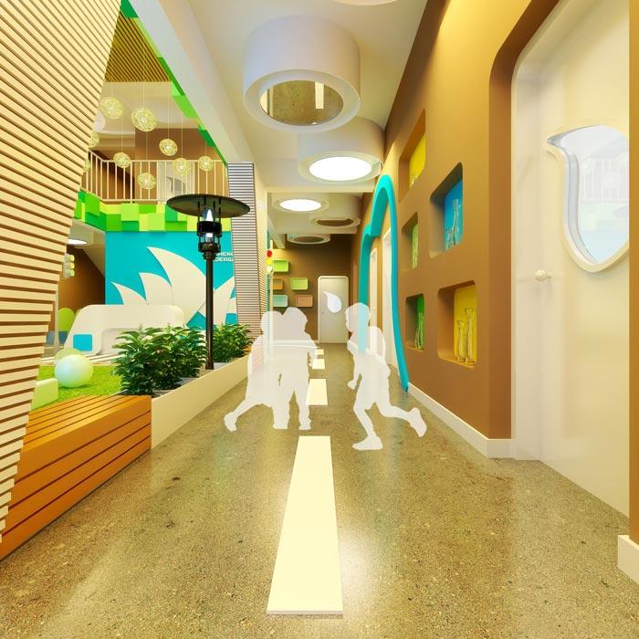 高端幼儿园动线装修设计案例