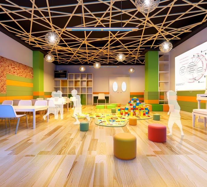 高端幼儿园教室装修设计案例