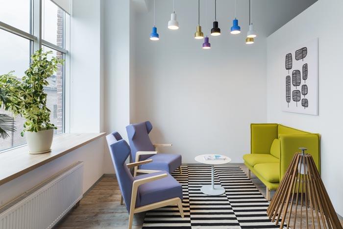 照明公司办公室装修设计案例
