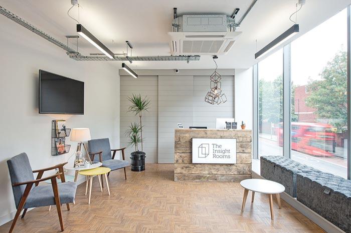 营销策划公司办公室装修设计案例