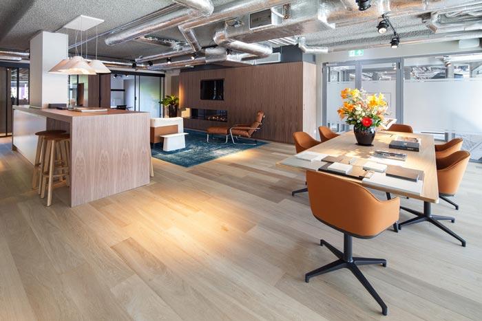 房地產開發商辦公室休息區域裝修設計案例效果圖
