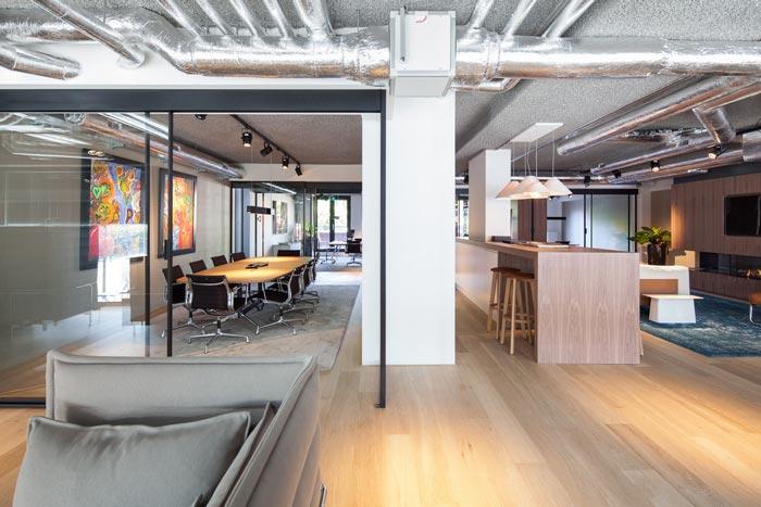 房地產開發商辦公室會議室裝修設計案例效果圖