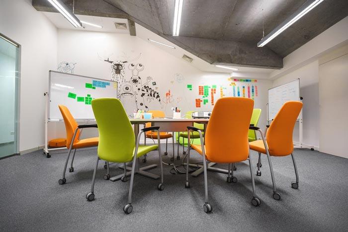 软件公司办公室装修设计案例