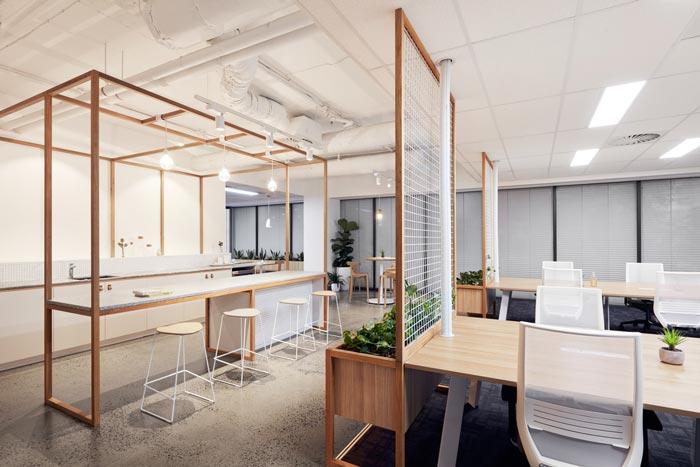 投资公司办公室办公区域装修设计案例效果图