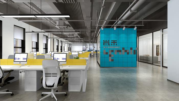 简约风格办公室装修设计效果图