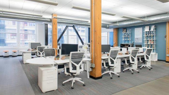 用户体验设计公司办公室装修设计效果图