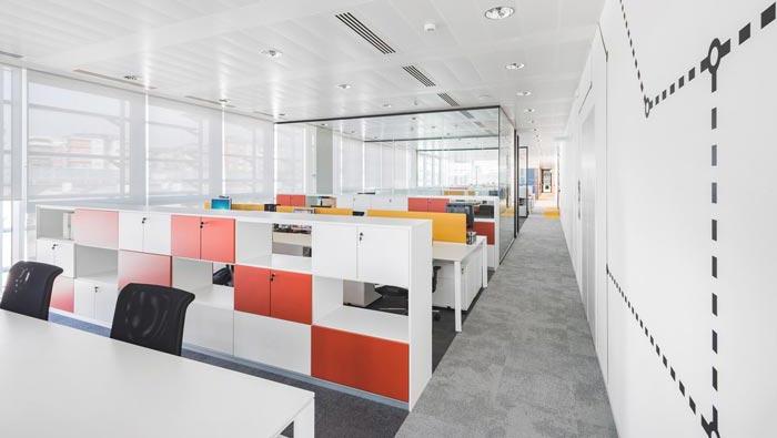 贷款服务机构办公室装修设计效果图