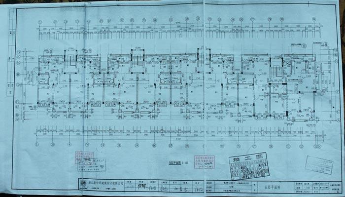 施工图和竣工图有区别?pvc床v图纸图纸水管图片