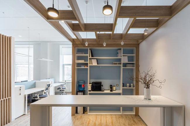 照明公司办公室装修设计方案