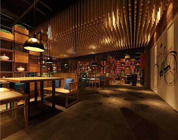 7080主题餐厅装修设计效果图