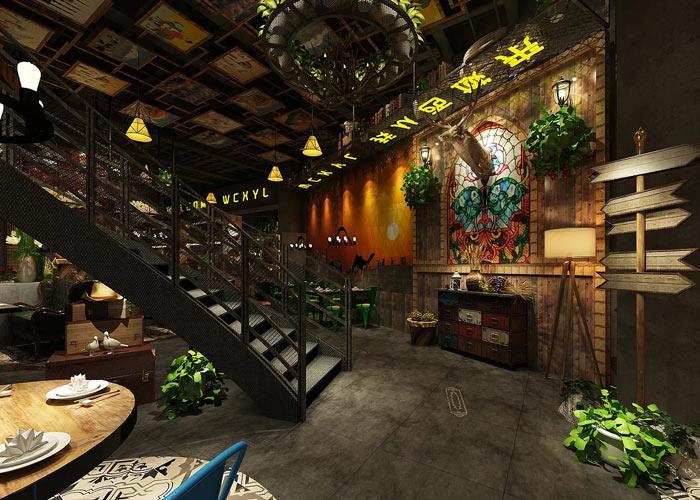 特色主题餐厅装修设计效果图
