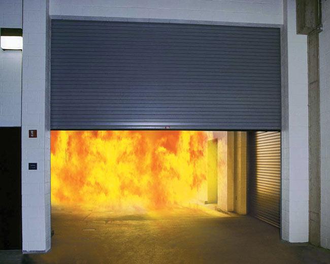 防火卷帘效果图