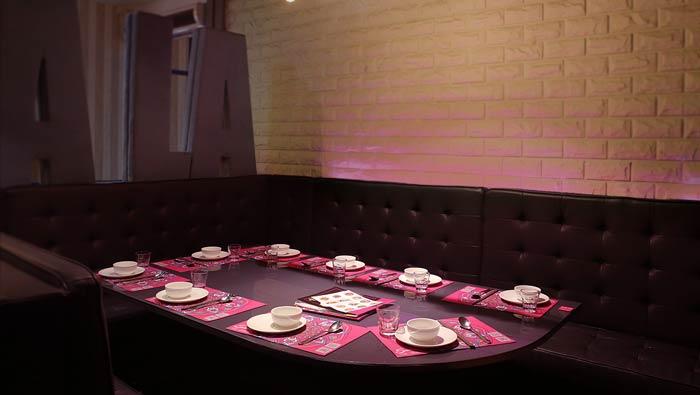 东南亚主题餐厅就餐区装修设计效果图