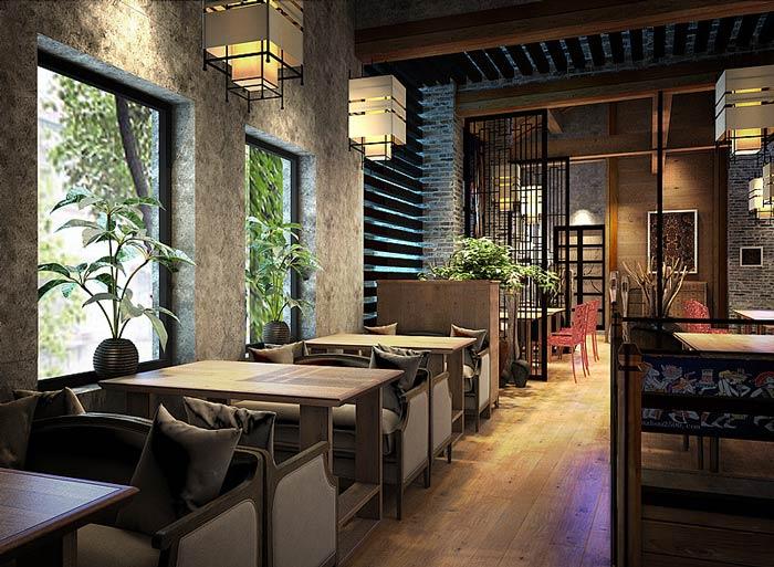 主题餐厅装修设计效果图