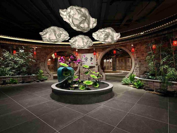 中餐厅装修设计效果图