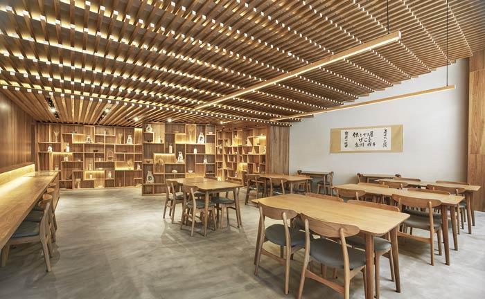 日式餐厅餐区装修设计效果图