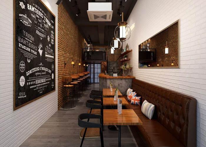 小型咖啡厅装修设计效果图