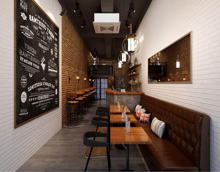 小型咖啡厅空间装修设计效果图