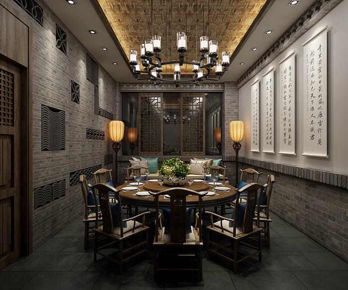 中餐厅包厢设计效果图